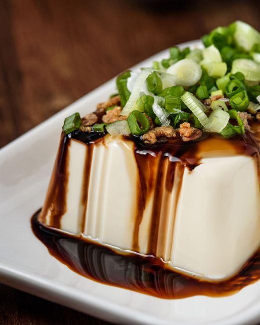 Bean Curd (Tofu) [葱油豆腐]